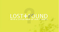 LOST + FOUND logo